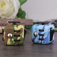 Wholesale Stress Relief anti anxiety fidget cube Camouflage Color Series Fashionable Design from china suppliers