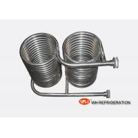 Wholesale Seamless 316L Stainless Steel Coil Heat Exchanger OD 25 MM Tube Spiral Type from china suppliers