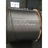 Wholesale AS1222 ASTM B416-98 Aluminium Clad Steel Wire Strand For Self - Damping Conductor Line from china suppliers
