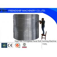 Wholesale Grain Silo Steel Corrugated Panel Roll Forming Machine For Zinc Alumina Sheet from china suppliers