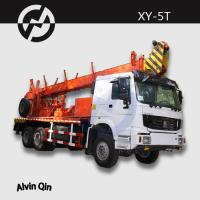 Wholesale 1200m soil investigation rotary drilling XY-5T NQ BQ HQ truck mounted water well drilling from china suppliers