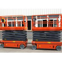 Wholesale Hydraulic Driven Scissor Lift Aerial Work Platform Working Height 12m from china suppliers