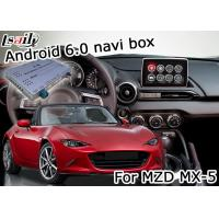 Wholesale Mazda MX-5 Android Navigation Box with Mazda origin knob control video interface from china suppliers