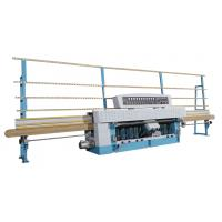 10 Spindles Laminated Glass Edging Machine with 45 Angle Range