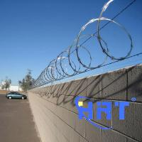 Wholesale Cheap Galvanized Razor Barbed Wire CBT-65 from china suppliers