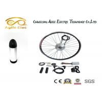 Wholesale 36V 350W Black Electric Bike Wheel Motor Kit With Bottle Type Lithium Battery from china suppliers