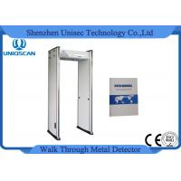 Wholesale Multi zones Alarm Walk Through Metal Detector For Buidling Entrance Security from china suppliers
