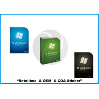 Wholesale Full version 32 bit 64 bit Microsoft Windows 7 Pro Retail Box with Russian / English from china suppliers