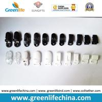 Wholesale Plastic ABS Clasp Clips Black White Clear Colors from china suppliers