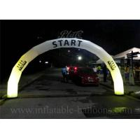 Wholesale Outdoor Advertising Inflatable Entrance Arch Oxford Cloth Door Arch With LED Light from china suppliers