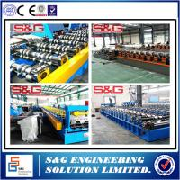 Wholesale Customized Metal Floor Deck Roll Forming Machine 380V /  3Phase / 50HZ Voltage from china suppliers