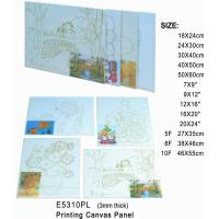 Wholesale 3mm Thick Print Stretched Canvas Art Painting Canvas Panel OEM Service Avaliable from china suppliers