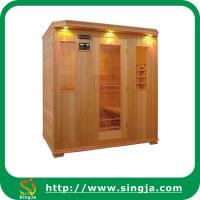 China Hemlock Carbon Infrared Sauna Room(ISR-21) on sale