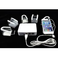Wholesale COMER Mobile Phone acrylic charger Display Stand With Alarm for shops from china suppliers