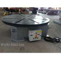 Wholesale Horizontal Welding Turntable 0.25kw UK Motor , 1200mm Table Diameter from china suppliers