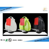 Wholesale Automatic Motor Electric Unicycle Scooter , One Wheel Electric Scooter from china suppliers