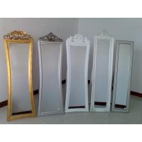Wholesale wooden framed cheval mirror,standing dressing mirror from china suppliers