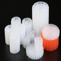 Wholesale Long Life 19 Holes K1 Kaldnes Media Virgin HDPE Material Bio Balls from china suppliers