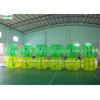 Wholesale Custom TPU Bubble Soccer Ball , Adults Inflatable Body Bumper Balls in Green from china suppliers