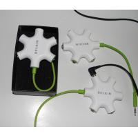 Wholesale 3.5mm Headphone splitters,  splitter, cable splitter, have spot goods supply; from china suppliers