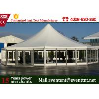 Wholesale Wedding Solar Power Aluminum Pop Up Fire Retardant Tent With Glass Wall from china suppliers