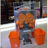 Wholesale Auto Feed Hopper Automatic Orange Squeezer , Portable Lemon Juicer from china suppliers