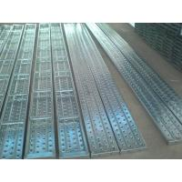 Wholesale Solid and durable scaffolding steel plank catwalk metal ladder with hook or without from china suppliers