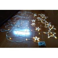 Quality USB and battery powered star curtain light with flash function for sale