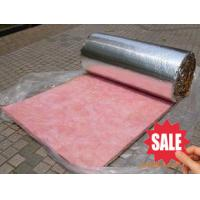 Buy cheap pink roofing glass wool rolls thermal insulation materials from wholesalers