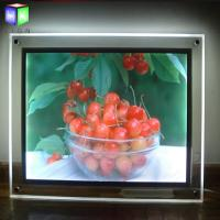 Wholesale Acrylic indoor Advertising Crystal Led Light Box For Picture Frame Display from china suppliers
