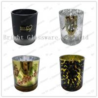 Wholesale plated glass candle holders for weddings from china suppliers