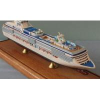 Wholesale Coral Princess Toy Cruise Ship Model , Ocean Liner Models With Alloy Casting Container Material from china suppliers