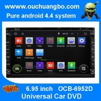 Wholesale Ouchuangbo Pure Android 4.4 Universal Car DVD Multimedia Stereo System OCB-6952D from china suppliers