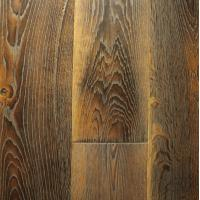 Buy cheap special fired / burned Oak engineered Flooring, wide plank single strip from wholesalers