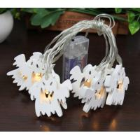 Quality Wooden ghost led fairy string halloween led decorative string for sale