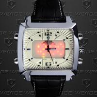 Wholesale Weide Soldier Dual Time Wrist Watches 30m Waterproof ,Outdoor Sport Watches from china suppliers