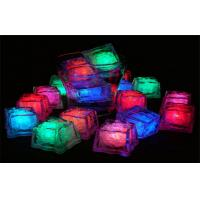Wholesale Rechargable RGBW Color LED Illuminated Ice Cubes With Lights Square Shape from china suppliers