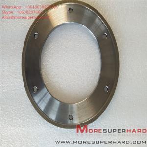 Wholesale 164*6*105*3*3 Metal Bond Diamond Grinding Wheel for Glass Machine ALisa@moresuperhard.com from china suppliers