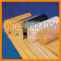 Glass wool blanket with foil