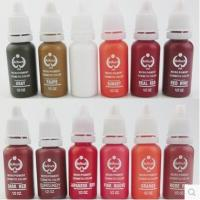 Buy cheap Biotouch tattoo ink/ cosmetic tattoo pigment for permanent makeup from wholesalers