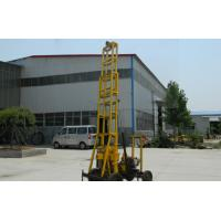 Wholesale Durable Borehole Water Drilling Rig trailer type , 22HP power from china suppliers