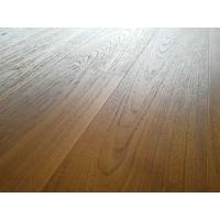 Wholesale premium AB grade Burma Teak Engineered Wood Flooring with brushed surface and natural vanished from china suppliers
