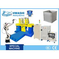 Wholesale Steel Cabinet Case Industrial  MIG Arc Welding Robot with Two Axis Positioner from china suppliers