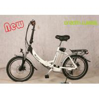 Wholesale 250 W Motorized Folding Bike / Bicycle , Recycle Foldaway Electric Bike from china suppliers