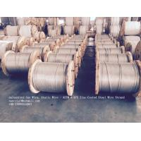 Wholesale ASTM A 475 Galvanized Guy Wire / Steel Cable Wire With Excellent Anti Rust Performance from china suppliers