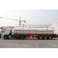 Buy cheap Liquefied Gas Semi-trailer / Gas Tanker Truck Capacity 39500L / 3 Axles from wholesalers