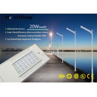 Quality IP65  LED Solar Street Lights in rural road with PIR Sensor for sale