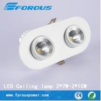 Wholesale The high-end commercial lighting double LED trunk lamp 2*10W from china suppliers