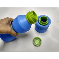 Wholesale 400 ML Outdoor By Bike Folding Silicone Drinking Cup With PP Lid from china suppliers