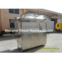 Wholesale ISO9001 Stainless Steel Coffee Cart , Mobile Food Kiosk  for Coffee from china suppliers